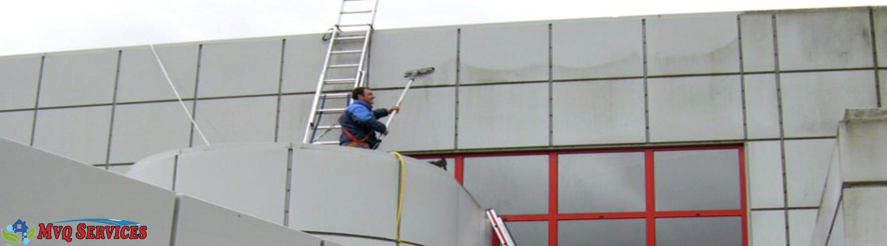 nettoyage façade, bardage Lille